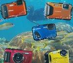 Cinq appareils photo étanches à la mer