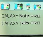CES 2014 : Samsung présente les Galaxy Tab Pro et Note Pro, de 8,4 à 12,2 pouces