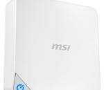 MSI Cubi : un PC miniature modulaire et économique