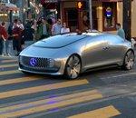 La F015, voiture autonome de Mercedes-Benz, fait ses débuts à San Francisco