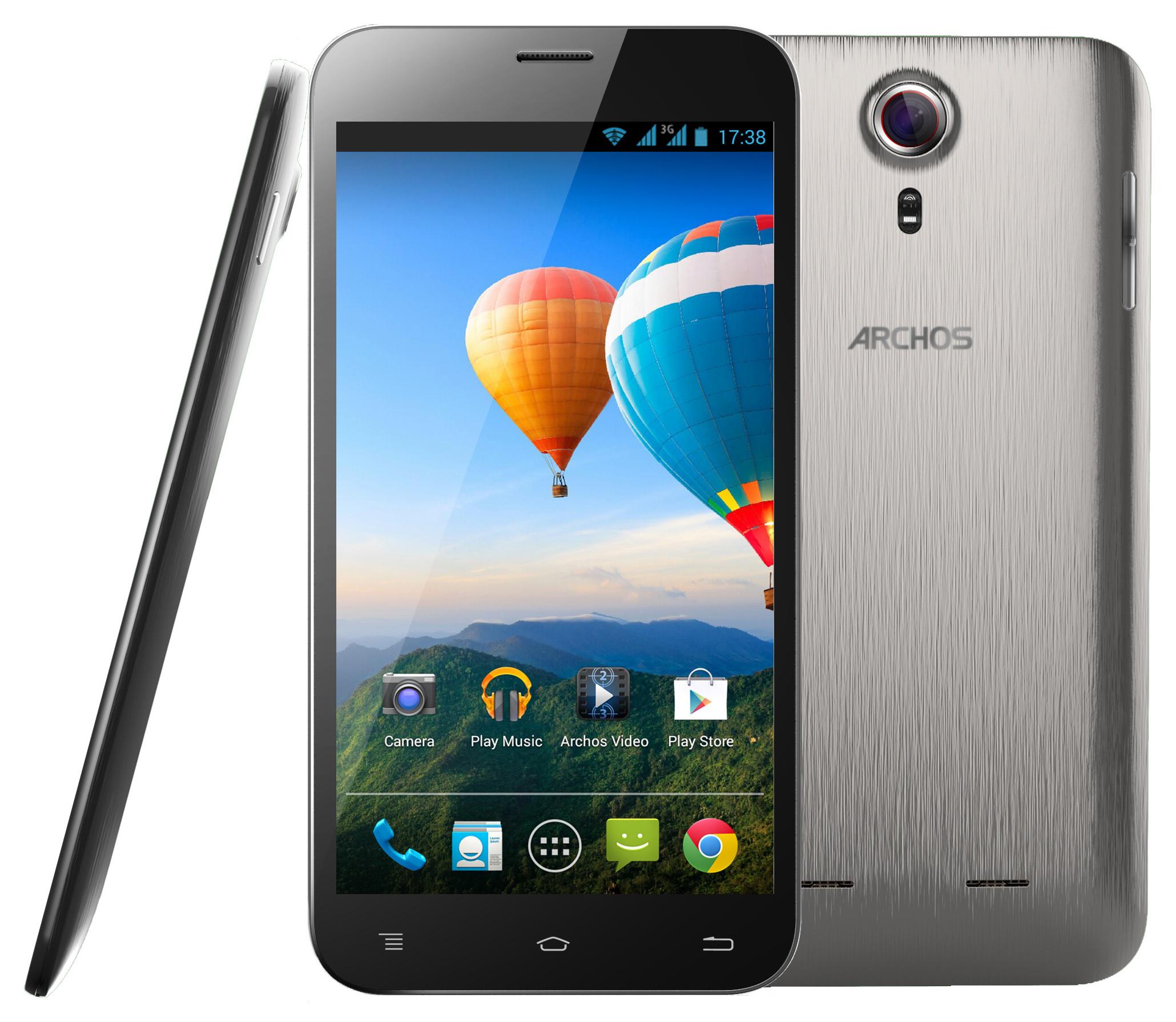 Archos 64 Xenon : un smartphone low cost à très grand écran
