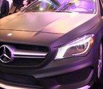 Video - Une Mercedes CLA 45 AMG équipée d'un tableau de bord futuriste sous QNX
