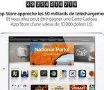 App Store : un bon d'achat de 10 000 dollars pour les 50 milliards de téléchargements (màj)
