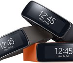 MWC 2014 : Samsung Gear Fit, un bracelet intégrant un coach sportif