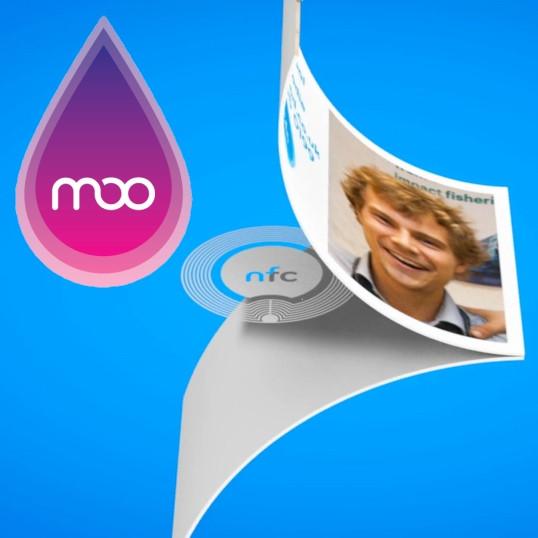 Moo Introduit Des Cartes De Visite NFC