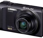 Casio Exilim-ZR300 : un compact conventionnel mais rapide