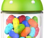 Jelly Bean installé sur 13,6% des terminaux Android