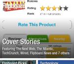 L'application Flipboard disponible sur Android