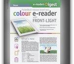 PocketBook annonce une liseuse à écran E Ink couleur et éclairage frontal