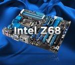 Intel Z68: nouveau chipset Sandy Bridge, 3 cartes en test!