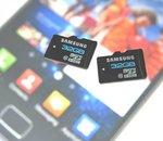 Samsung annonce une microSD rapide de 32 Go