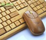 Un clavier en bambou écolo chez Chinavision