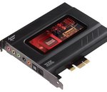 Creative Sound Blaster Recon3D : premières cartes son Sound Core3D