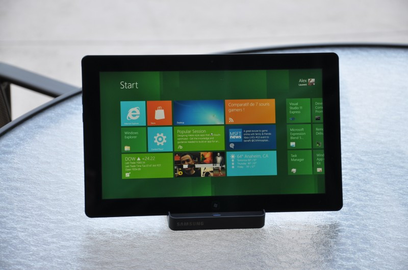 Samsung Fournit La Premi 232 Re Tablette Windows 8