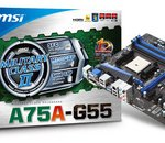 MSI A75A-G55 : une carte mère sans fioriture pour AMD Llano