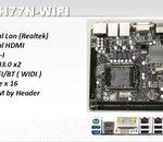 Double Ethernet, WiFi et H77 Express en mini-ITX chez Gigabyte