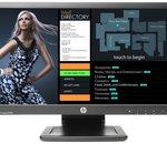 HP lance un moniteur tactile abordable