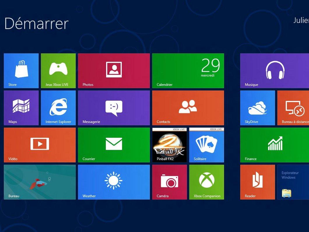 Windows 8 : une configuration requise fort modeste
