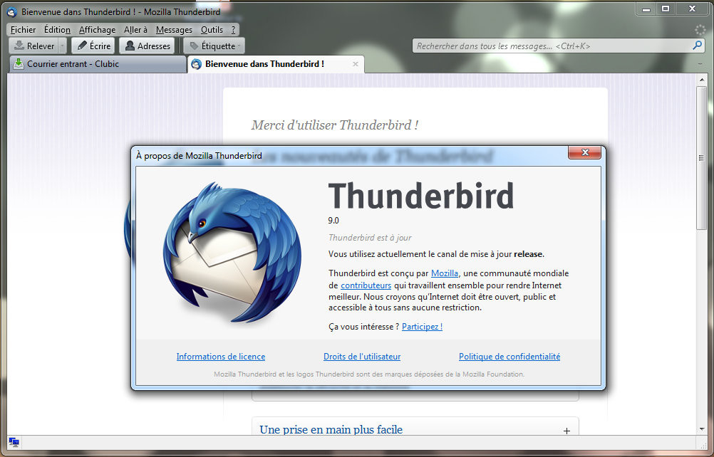 thunderbird clubic