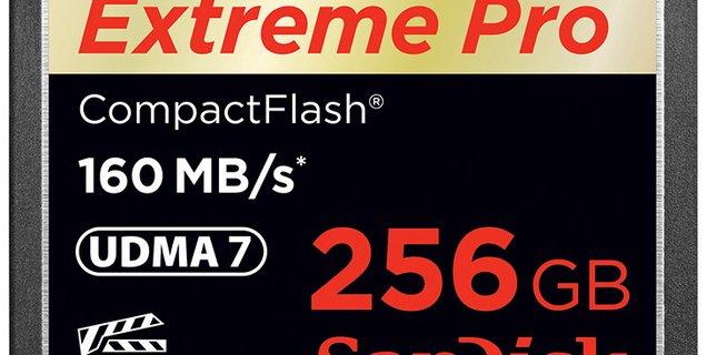 SanDisk lance la carte mémoire la plus rapide au monde : 450 Mo/s