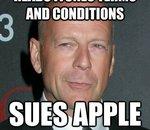 Legs de fichiers iTunes : Bruce Willis penserait à attaquer Apple (MàJ)