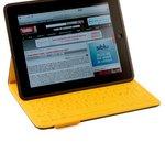 Logitech FabricSkin Keyboard Folio : étui/clavier pour iPad