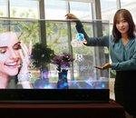 Miroir ou transparent : des écrans OLED Samsung dignes de la science-fiction