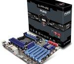 Sapphire Pure Black 990FX : une carte mère AM3+ à six ports PCIe x16