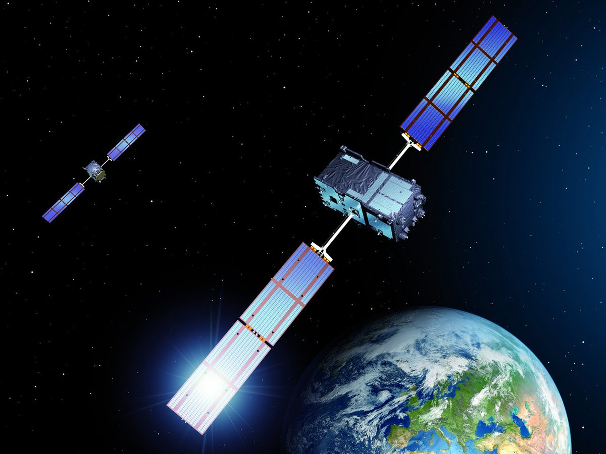 Deux satellites IOV de Galileo