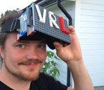 Insolite : un casque de réalité virtuelle conçu en Lego