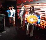 CES 2012 : grandes diagonales ou TV sur batterie chez Sharp