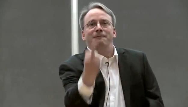 Linus Torvalds, Nvidia fuck you