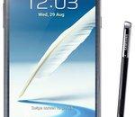 Samsung Galaxy Note II : mise à jour du test