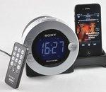 Test Sony ICF-C7iP : le plus compact des docks réveil