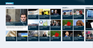 LeParisien.fr - Windows 8 Modern UI