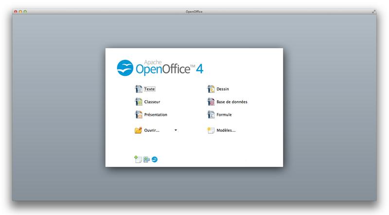 open office para mac