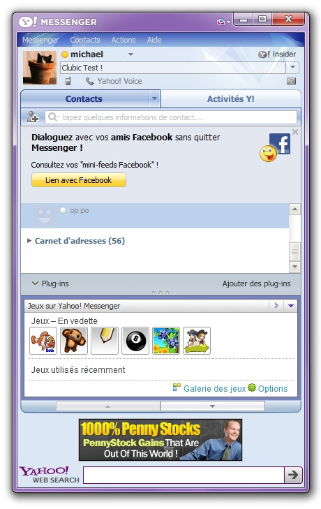 Yahoo Messenger 11 Clubic Mikeklo