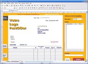 T l charger factooor pour windows t l chargement gratuit - Open office a telecharger ...