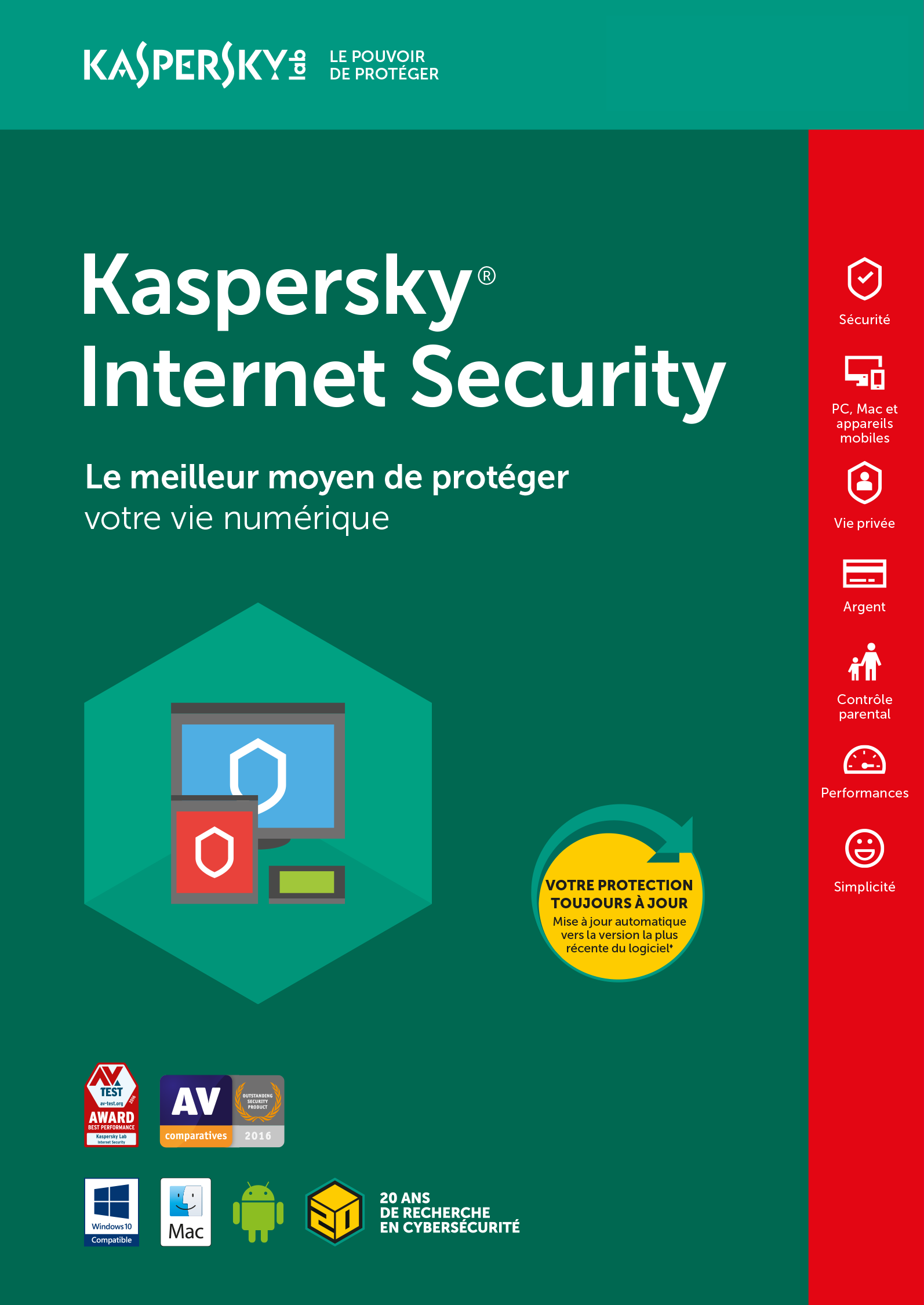 kaspersky internet security 2011 gratuit sur clubic