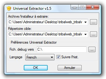 Télécharger Universal Extractor pour Windows