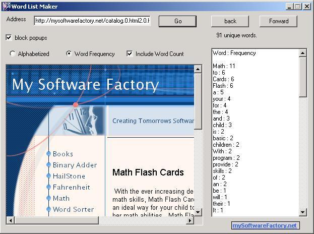 Télécharger Word List Maker pour Windows : téléchargement gratuit !