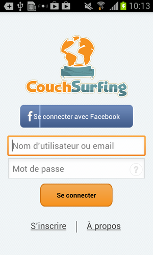 t l charger couchsurfing pour android t l chargement gratuit. Black Bedroom Furniture Sets. Home Design Ideas