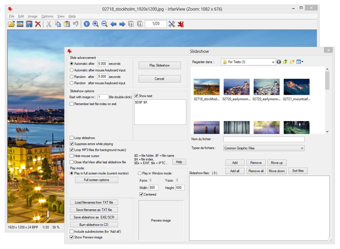 Télécharger IrfanView pour Windows : téléchargement gratuit !