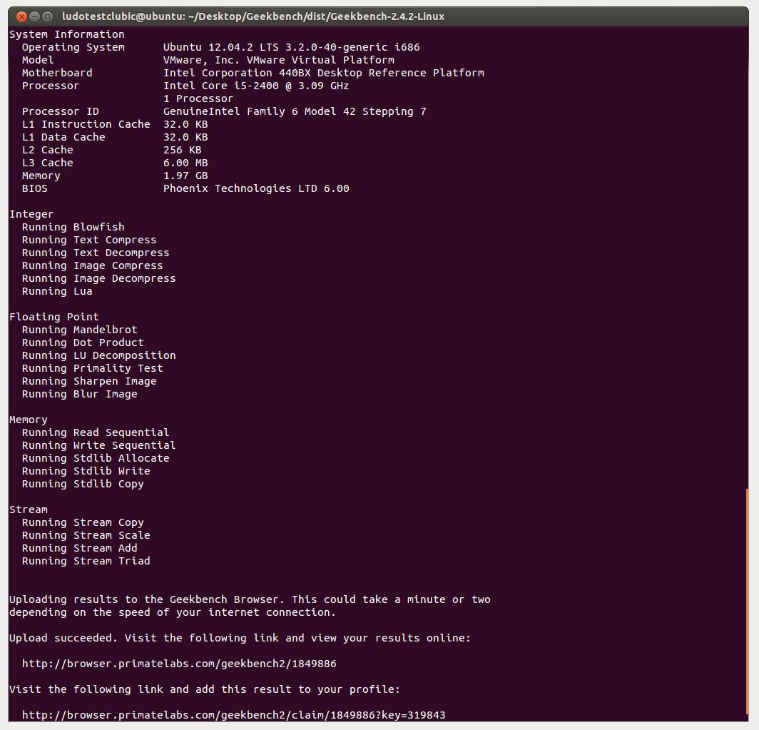 Télécharger Geekbench pour Linux : téléchargement gratuit !