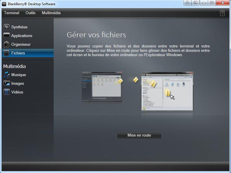 Télécharger BlackBerry Desktop Manager pour Windows