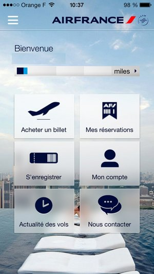 t l charger air france mobile pour ios t l chargement gratuit. Black Bedroom Furniture Sets. Home Design Ideas