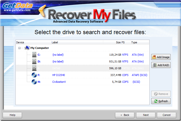 Télécharger Recover My Files Data Recovery pour Windows : téléchargement  gratuit !