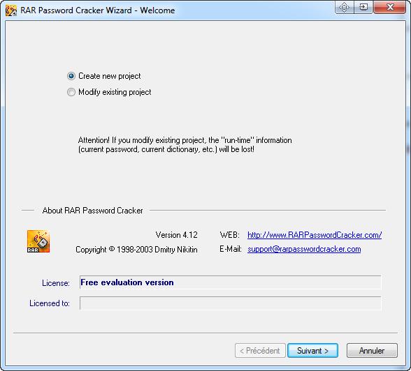 Télécharger RAR Password Cracker pour Windows : téléchargement gratuit !