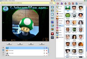 Télécharger splitcam pour utiliser votre webcam de manière optimale.