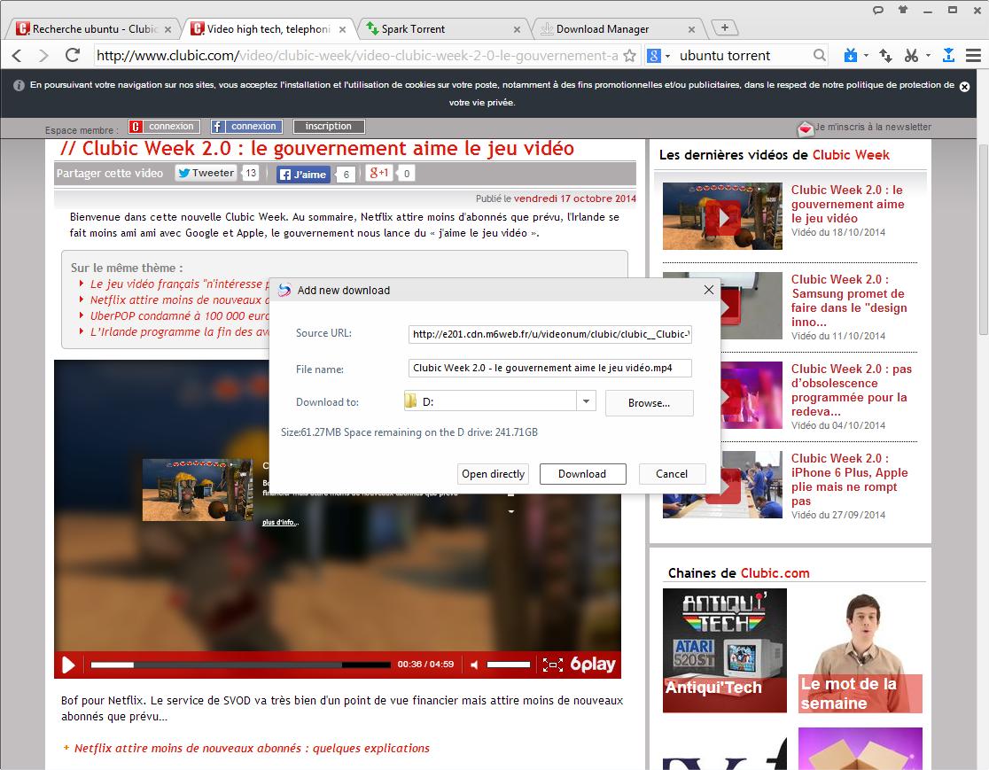 Télécharger Baidu Spark Browser gratuit   Clubic com